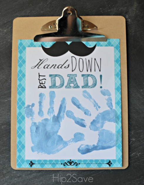 Hands Down Best Dad Free Printable Hip2Save